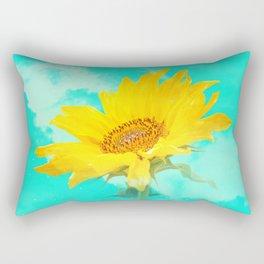 It's the sunflower Rectangular Pillow