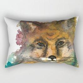 Nature Fox Rectangular Pillow