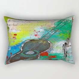 Strum a Song Rectangular Pillow