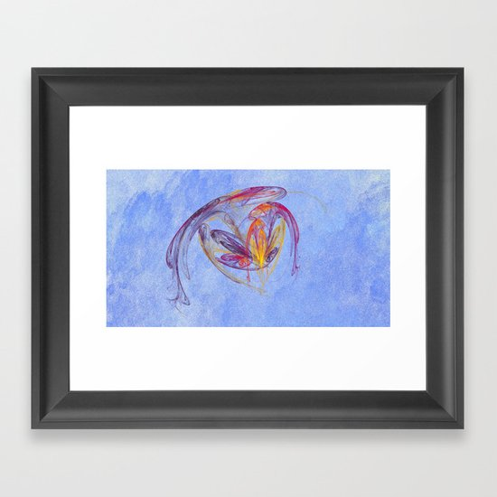 Loving Heart   (A7 B0171) Framed Art Print