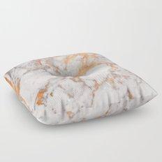 Copper Marble Floor Pillow