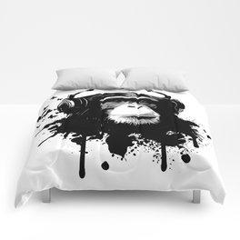 Monkey Business - White Comforters