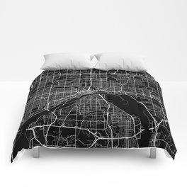 saint paul map minnesota Comforters