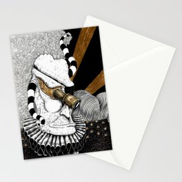 The Creator of Malignant Metaphors Stationery Cards