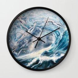 Spirits of the Sea Wall Clock
