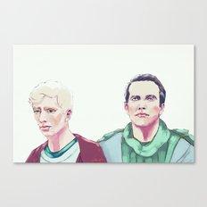 Flesh Canvas Print