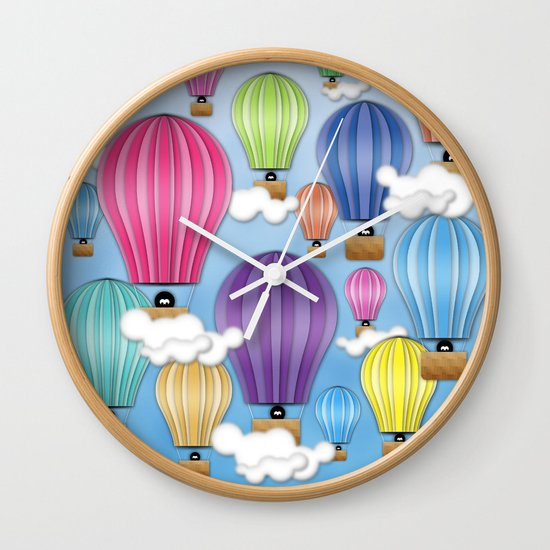 UP! UP! AND AWAAAAAAYYY!  Wall Clock