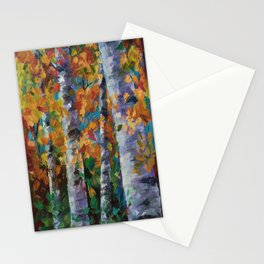 Birch trees - 1 Stationery Cards