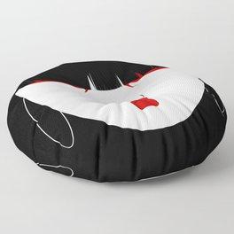 Modern Geisha #2 Floor Pillow