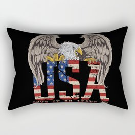 Love it or Leave it Rectangular Pillow
