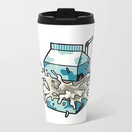 Milk Metal Travel Mug