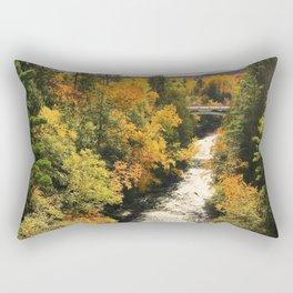 Water-Fall Colors Rectangular Pillow