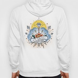 Cleric - Vintage D&D Tattoo Hoody