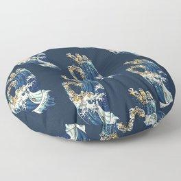 Jnana Mudra of Pug Floor Pillow