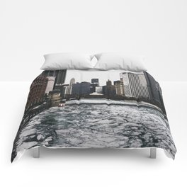Chicago River Comforters