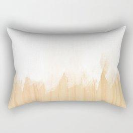 Scandinavian White Rectangular Pillow