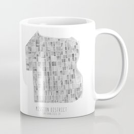 Mission District Watercolor Coffee Mug