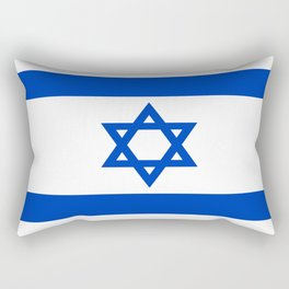 Flag of Israel Rectangular Pillow
