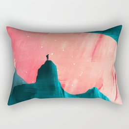 We understand only after Rectangular Pillow