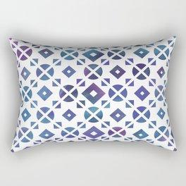 Broken Geometry 3 Rectangular Pillow