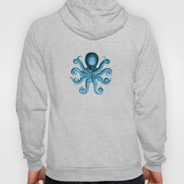 Octopus2 (Blue, Square) Hoody