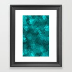 Kaleidoscope Series Crystal Framed Art Print