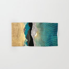 Peacock Vista Hand & Bath Towel