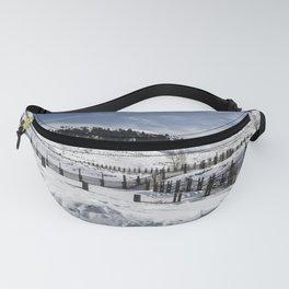 Carol M Highsmith - Snow Covered Hills Fanny Pack