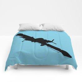 Crop Duster Silhouette Comforters