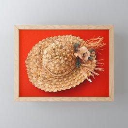 Hat Framed Mini Art Print