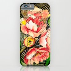 Flower Mixed-Media Slim Case iPhone 6s