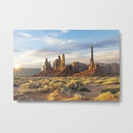 Monument Valley, Arizona Metal Print