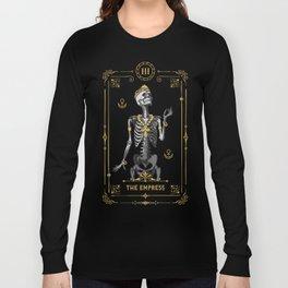 The Empress III Tarot Card Long Sleeve T-shirt