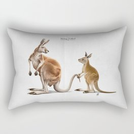 Being Tailed Rectangular Pillow