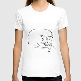 Relaxing Cat T-shirt