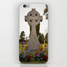 Celtic Claddagh cross iPhone & iPod Skin
