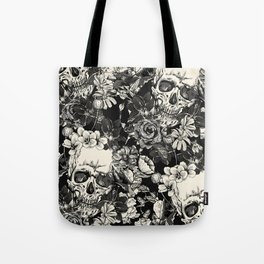 SKULLS HALLOWEEN Tote Bag