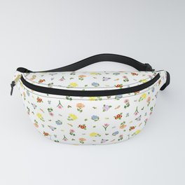 Flowers and More Flowers Fanny Pack