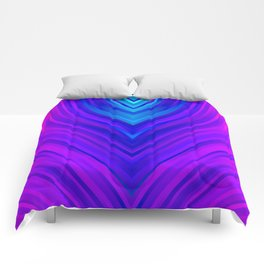 stripes wave pattern 3 s60 Comforters