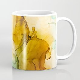 Turning Fall  - Abstract Ink Painting Coffee Mug