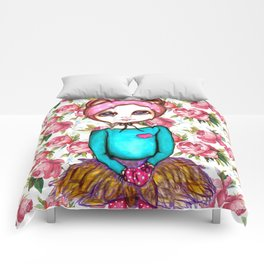 Bear Girl Comforters