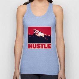The Worm: Hustle Unisex Tank Top