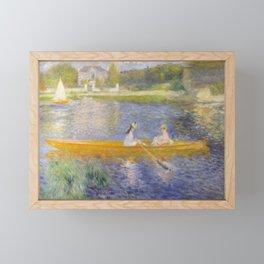 The Skiff (La Yole) by Pierre-Auguste Renoir Framed Mini Art Print