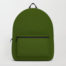 Jungle Green Solid Color Collection Backpack