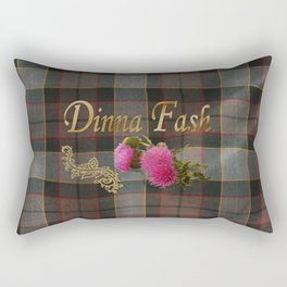 Dinna Fash (Outlander) Rectangular Pillow