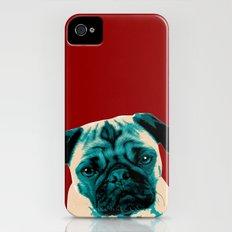 Pugs Not Drugs Slim Case iPhone (4, 4s)