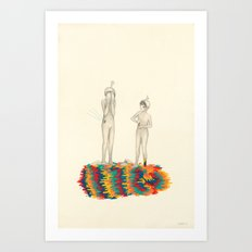 So You Can Stand Up For Me Art Print