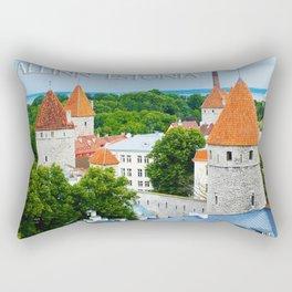 Kiek in de Kok Towers - Tellinn Estonia Rectangular Pillow