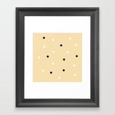 Chocolate Chip Cookie Dough Framed Art Print