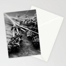 Lavender No. 2 (Black & White) Stationery Cards